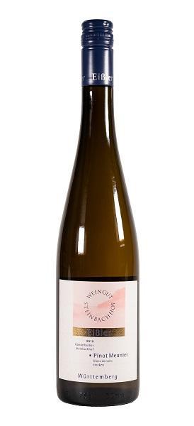 2019 Pinot Meunier blanc de noirs * 0,75 L trocken - Weingut Steinbachhof / Eißler