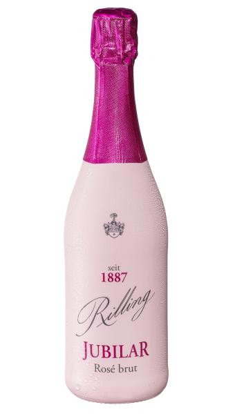 1887 Jubilar Rosé Sekt brut 0,75 l - Rilling Sekt