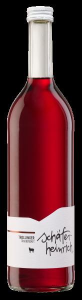 2019 Trollinger Traubensaft Bio 0,7 L - Schäfer-Heinrich Ökologisches Weingut