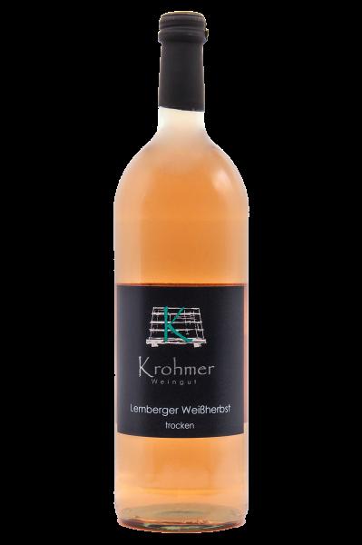 2020 Lemberger Rosé trocken 1,0 L - Familie Krohmer
