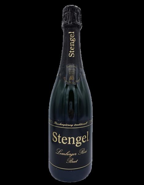 Lemberger Rosé Brut Sekt 0,75 L traditionelle Flaschengärung - Sekt -und Weinmanufaktur Stengel