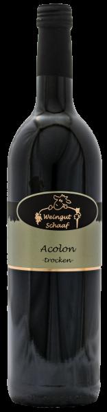 2019 Acolon trocken 0,75 L Lauffener Katzenbeißer - Weingut Schaaf