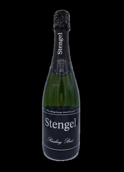 Riesling Brut Sekt 0,75 L traditionelle Flaschengärung - Sekt -und Weinmanufaktur Stengel