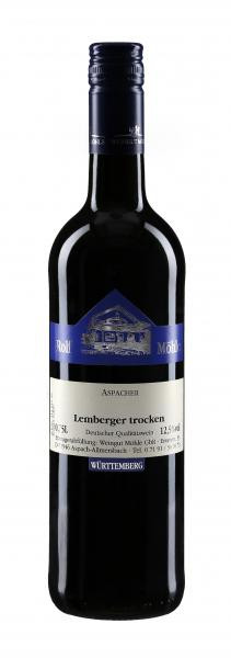 2017 Lemberger trocken 0,75 l - Weingut Möhle