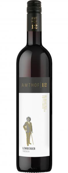 Cuvée Rot trocken 0,75 L Holzfass - Amthof 12