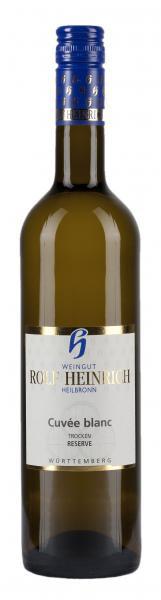 2018 Cuvée blanc RESERVE Weisswein trocken 0,75 L Holzfass - Weingut Rolf Heinrich