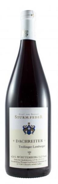 2016 DACHREITER Trollinger-Lemberger 1,0 L halbtrocken - Weingut Graf von Bentzel Sturmfeder
