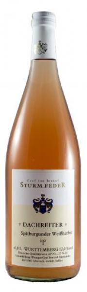 2018 DACHREITER Spätburgunder Weißherbst 1,0 L halbtrocken - Weingut Graf von Bentzel Sturmfeder