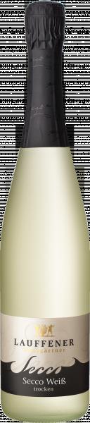 SECCO Weiß trocken 0,75 L - Lauffener Weingärtner