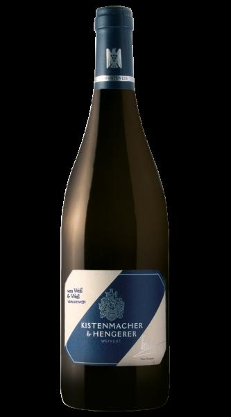 2020 von Weiß und Weiß Weißwein trocken 0,75 L VDP.Gutswein - Weingut Kistenmacher-Hengerer