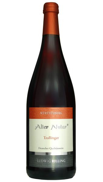 2019 Trollinger 1,0 L ALTER NOTAR - Ludwig Rilling
