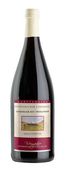 2019 Lemberger mit Trollinger 1,0 L halbtrocken - Weingärtner Horrheim-Gündelbach