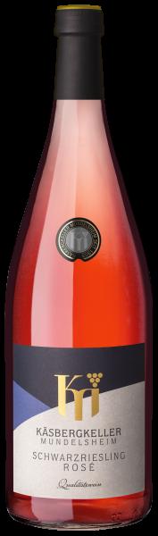 2019 Schwarzriesling Rosé 1,0 L halbtrocken - Käsbergkeller Mundelsheim