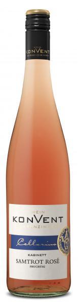 2020 Samtrot Rosé Kabinett fruchtig 0,75 L CELLARIUS - Weinkonvent Dürrenzimmern