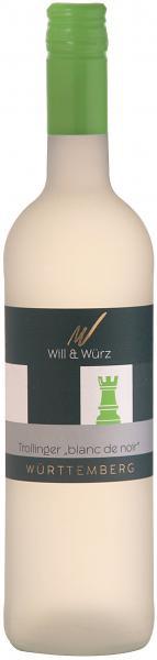 2019 Trollinger blanc de noir fruchtig EQUES 0,75 L – Weingut Will und Würz