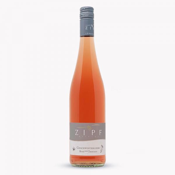 2020 GESCHWISTERLIEBE Rosé trocken *** 0,75 L - Weingut Zipf