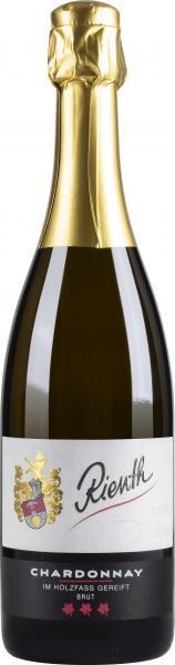2018 Chardonnay Sekt brut 0,75 L klassische Flaschengärung - Weingut Rienth