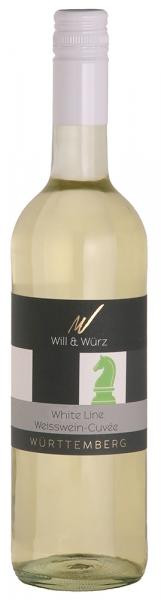 2016 White Line Weisswein-Cuvée EQUES 0,75 L – Weingut Will und Würz