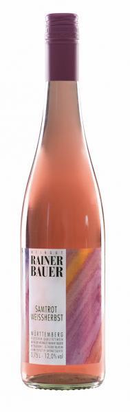 2020 Samtrot Weissherbst 0,75 L fruchtig - Weingut Rainer Bauer