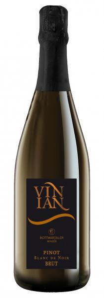 2017 Vinian Sekt brut Pinot Blanc de Noir 0,75 L - Bottwartaler Winzer