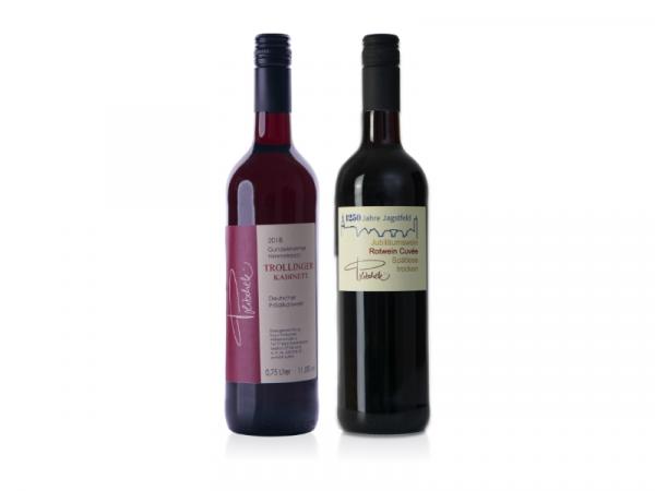 Kraft trifft Frucht - 2 Rotweine 0,75 L - Weingut Politschek