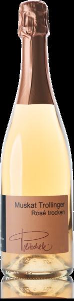 2016 Muskat Trollinger Rosé Sekt trocken 0,75 l - Weingut Politschek