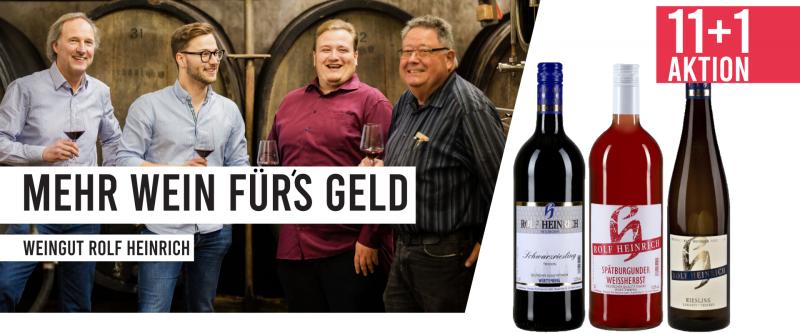 Mehr Wein für´s Geld - Weingut Rolf Heinrich