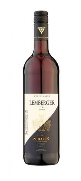 2018 Lemberger S trocken 0,75 L Bio - Weingut Schäfer Kleinbottwar