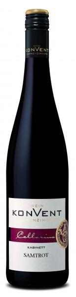 2020 Samtrot Kabinett lieblich 0,75 L CELLARIUS - Weinkonvent Dürrenzimmern