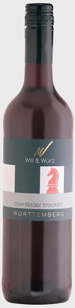 2015 Dornfelder trocken EQUES 0,75 L – Weingut Will und Würz