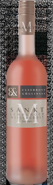 2020 Lemberger Weißherbst trocken 0,75 L Sankt M - Weingärtner Cleebronn-Güglingen
