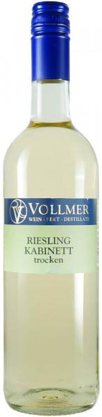 Riesling Kabinett trocken 0,75 L - Weingut Vollmer