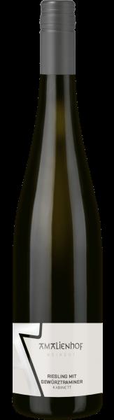 2020 Riesling mit Gewürztraminer 0,75 L Kabinett - Weingut Amalienhof