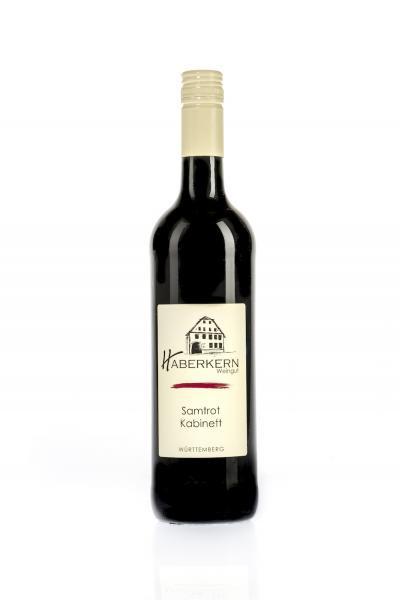 2020 Samtrot Kabinett 0,75 L lieblich - Weingut Haberkern