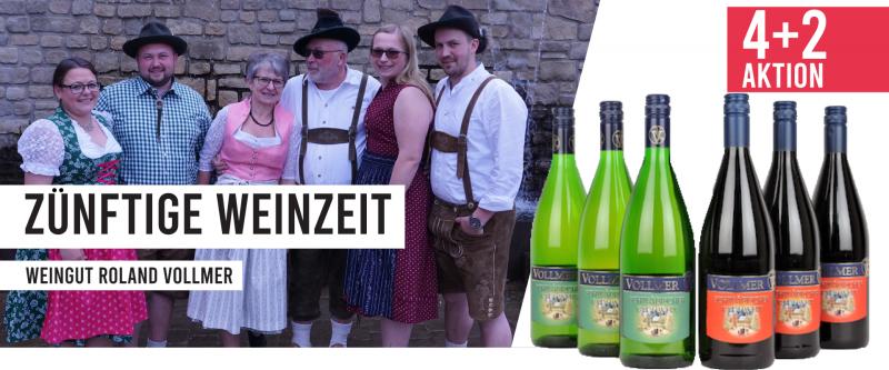 4+2 Aktion Schwäbischer Glühwein - Weingut Roland Vollmer