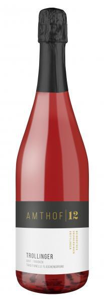 Trollinger Sekt trocken 0,75 L Traditionelle Flaschengärung - Amthof 12