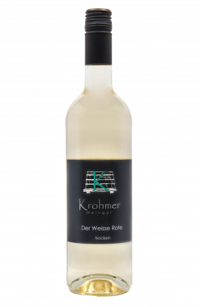 2020 Der Weisse Rote trocken 0,75 L Blanc de Noir - Familie Krohmer