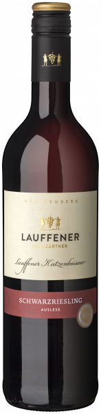 2018 Schwarzriesling Auslese lieblich 0,75 L Lauffener Katzenbeißer - Lauffener Weingärtner