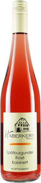 2020 Spätburgunder Rosé Kabinett 0,75 L lieblich - Weingut Haberkern