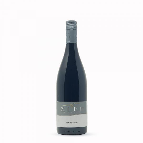 2017 Lemberger*** 0,75 L halbtrocken - Weingut Zipf