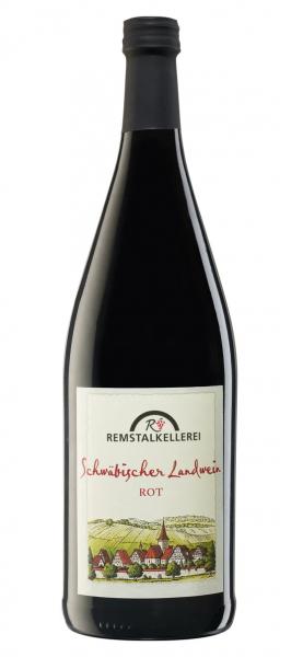 Schwäbischer Landwein Rotwein 1,0 L halbtrocken - Remstalkellerei