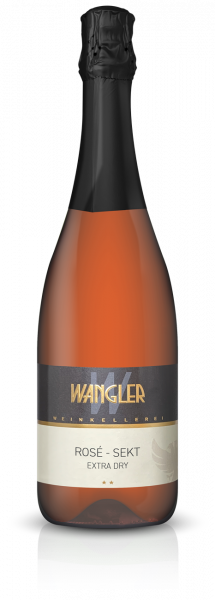 Rosé Sekt extra Dry 0,75 L - Weinkellerei Wangler