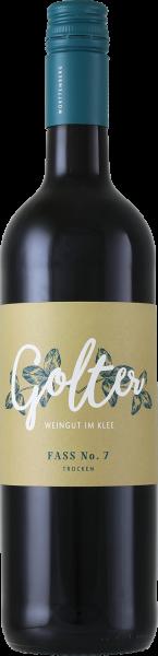 Fass No. 7 Rotwein Cuvée trocken 0,75 L - Weingut Golter