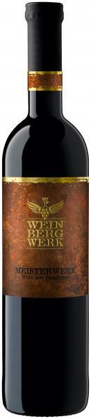 2015 MEISTERWERK Rotwein Cuvée trocken 0,75 L im Barrique gereift - WeinBergWerk