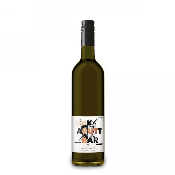 2016 UNKAPUTTBAR Cuvée Weiß fruchtig 0,75 L Weisswein - Weingut & Edelbrennerei Gemmrich