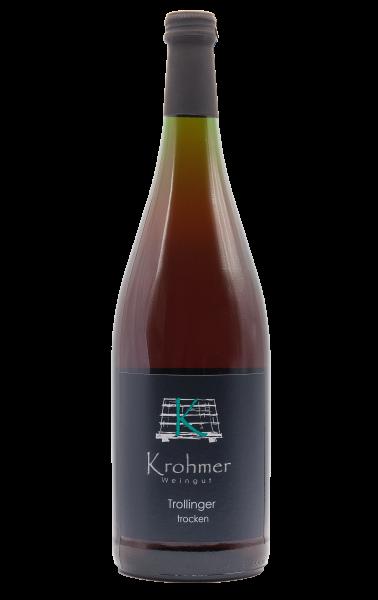 2020 Trollinger trocken 1,0 L - Familie Krohmer