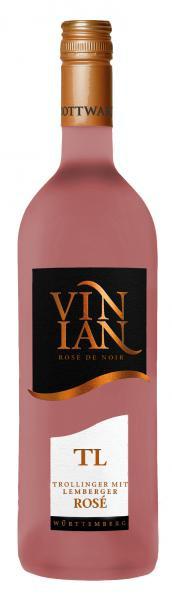 2020 VINIAN TL Rosé 0,75 L feinherb - Bottwartaler Winzer