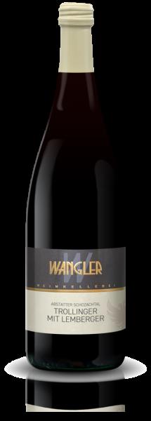 2020 Trollinger mit Lemberger 1,0 L halbtrocken Abstatter Schozachtal - Weinkellerei Wangler