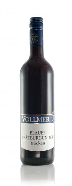 Blauer Spätburgunder trocken 0,75 L - Weingut Vollmer