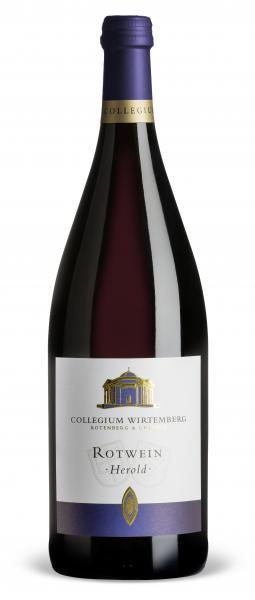 2018 Herold 1,0 L Rotwein halbtrocken - Collegium Wirtemberg